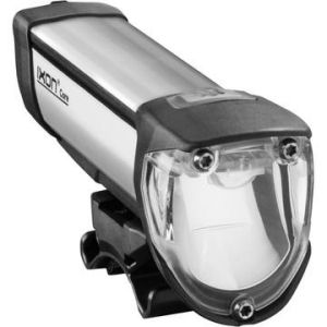 Bicycle headlight with shaped beam pattern