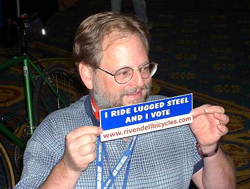 John Schubert speaks up for steel