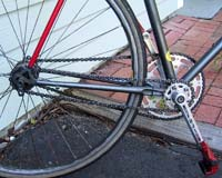 Double-Chain Fixed Freewheel Bicycle