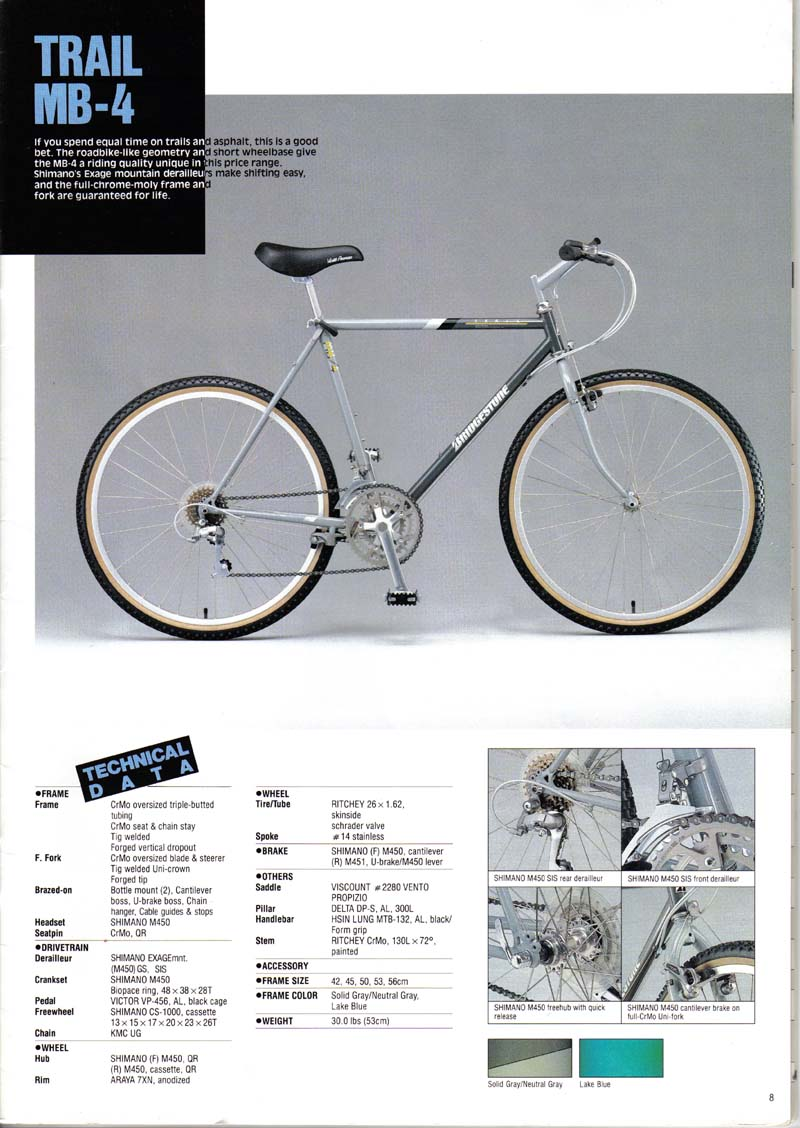 Bridgestone MB-4 from 1988