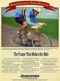 XO-1 Ad from August 1991 Road Bike Action