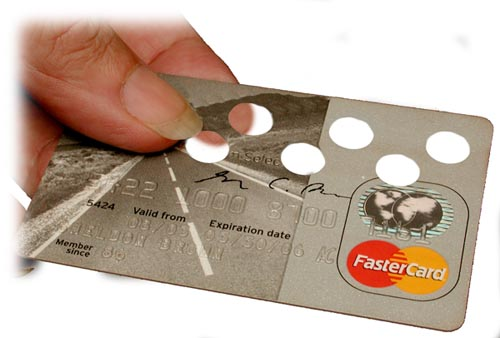 FasterCard in Hand