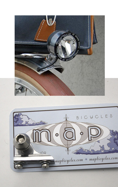 M.A.P. fender mount for headlight