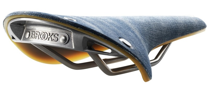 Brooks Limited Edition Levi's Denim C17 Cambium Saddle