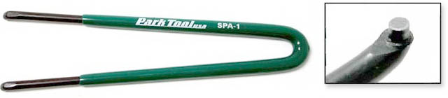 Park SPA-1 Green Pin Spanner Wrench