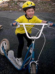 scooting