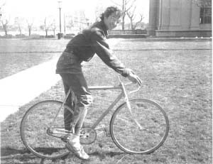 Marc on his bike in 1974
