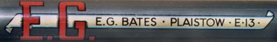Bates downtube