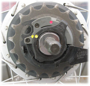 completed cassette joint installation with fixing ring