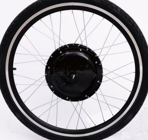 Wheel at limit of spoke angle