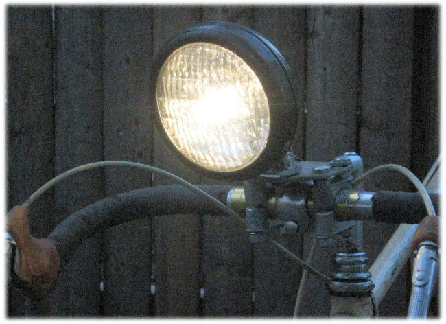 Bicycle Lighting Systems headlight