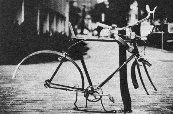 stripped bicycle