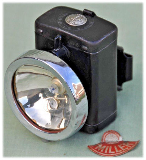 Miller battery bicycle headlight