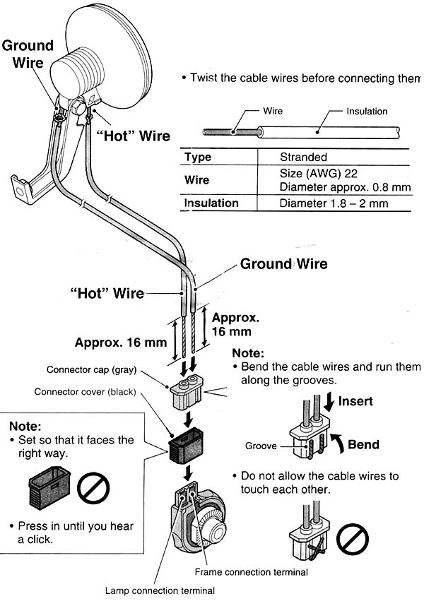 Shimano on generator plug diagram