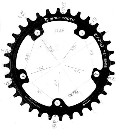 Wolf tooth CAMO chainring
