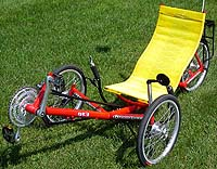 Greenspedd GT3 Folding Recumbent Tricycle