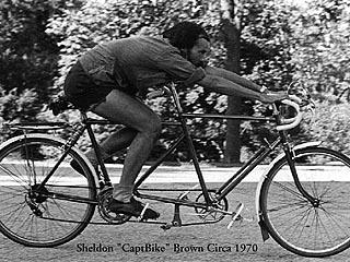 Sheldon Brown Solo Tandem Bicycle