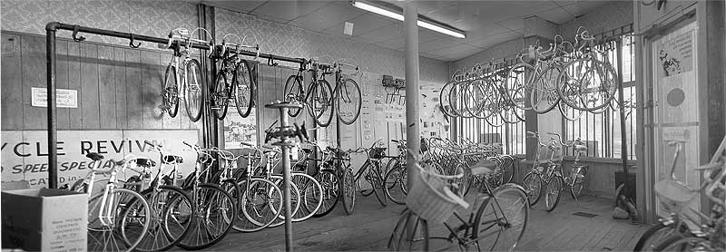 Bicycle Revival, Cambridge Massachusetts, November 1971