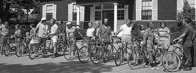 Tandem Ride for the Blind, August 1971