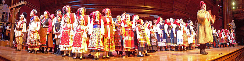 Christmas Revels Panorama