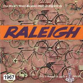 1967 Raleigh Bicycle Catalogue