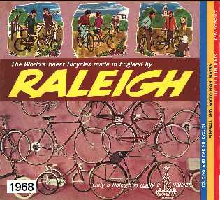 1968 Raleigh Bicycle Catalogue