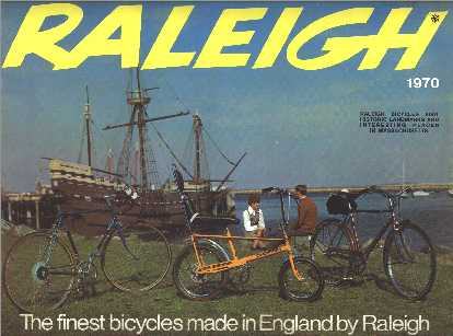 1970 Raleigh Bicycle Catalogue