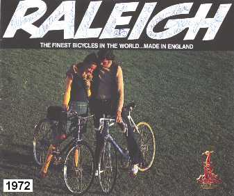1972 Raleigh Bicycle Catalogue