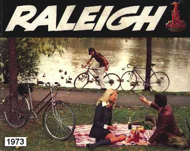 1973 Raleigh Bicycle Catalogue