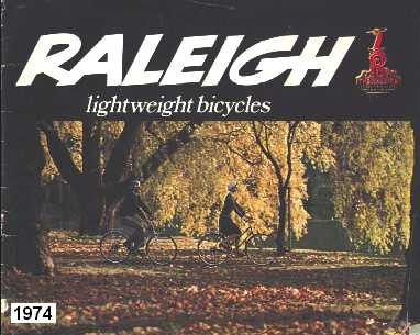1974 Raleigh Bicycle Catalogue