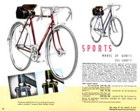 Raleigh Bicycle Catalog For 1951