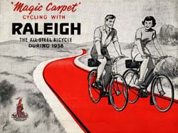 1958 Raleigh Bicycle Catalogue