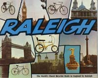 1969 Raleigh Bicycle Catalogue