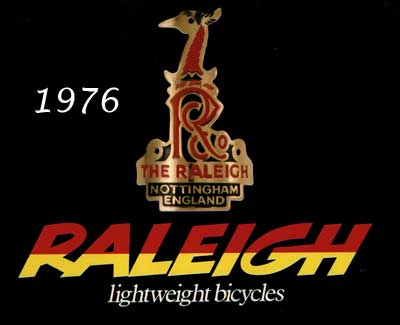 1976 Raleigh Bicycle Catalogue
