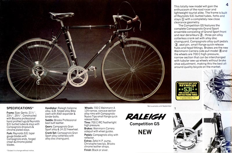 1977 Raleigh Competition