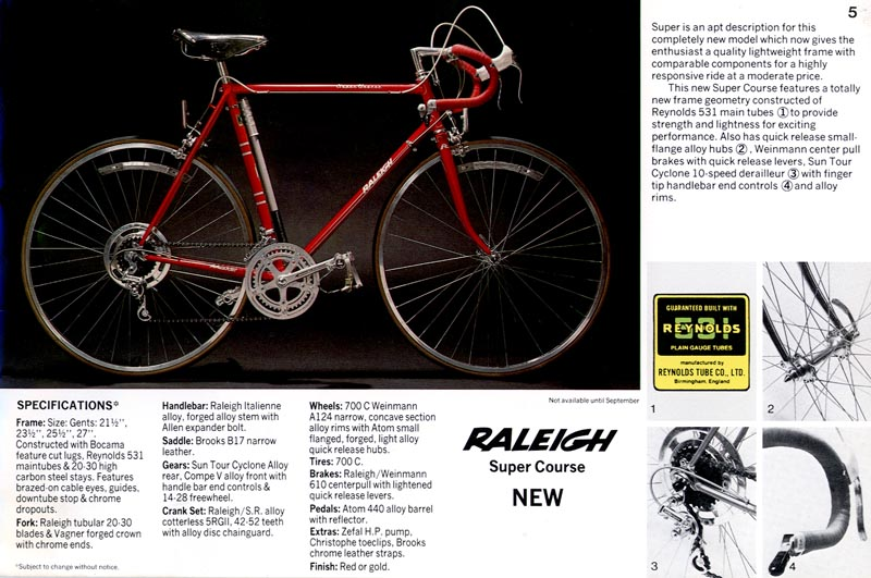 1976 Raleigh Professional