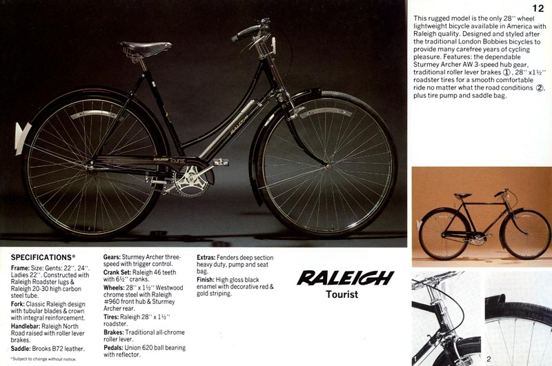 1976 Raleigh Tourist Roadster