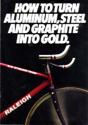 1978 Raleigh Bicycle Catalogue