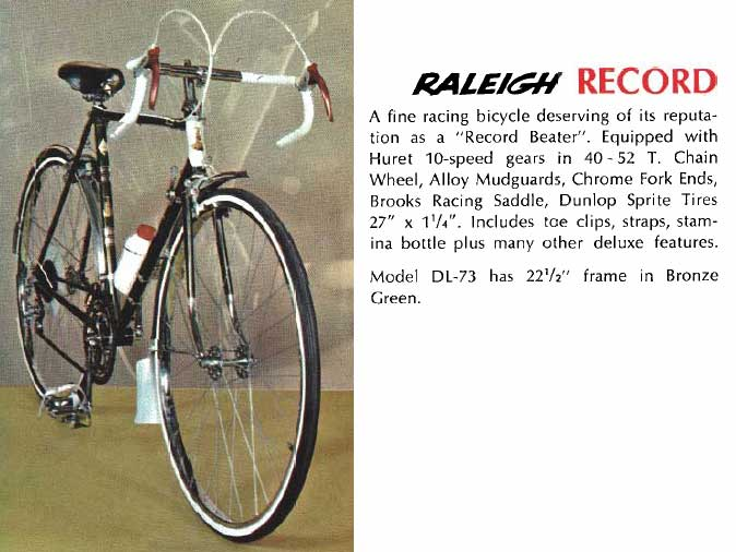 1967 Raleigh Record