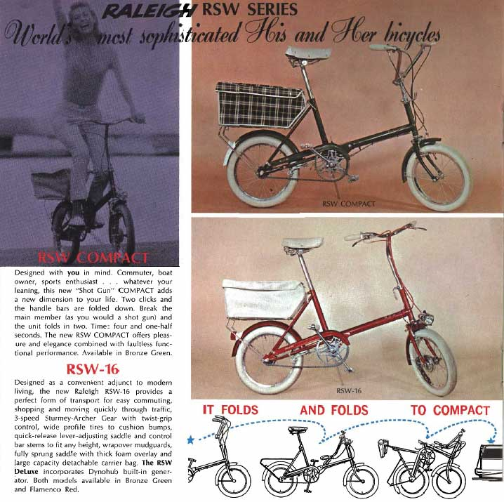 1967 Raleigh RSW