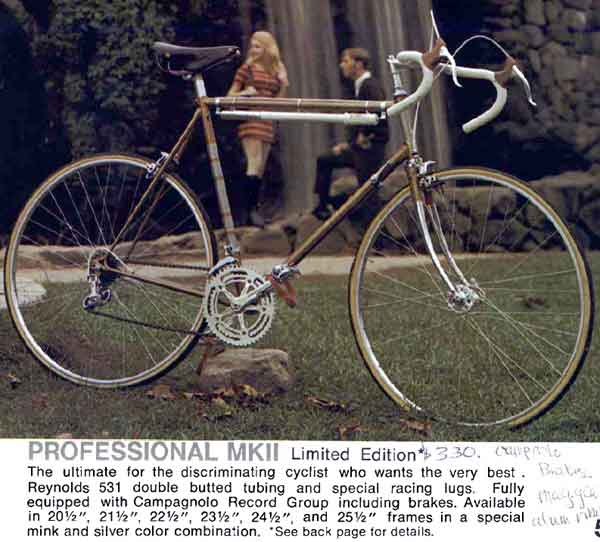 1970 Raleigh professional