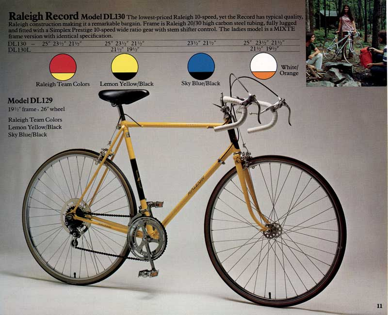 1976 Raleigh Record
