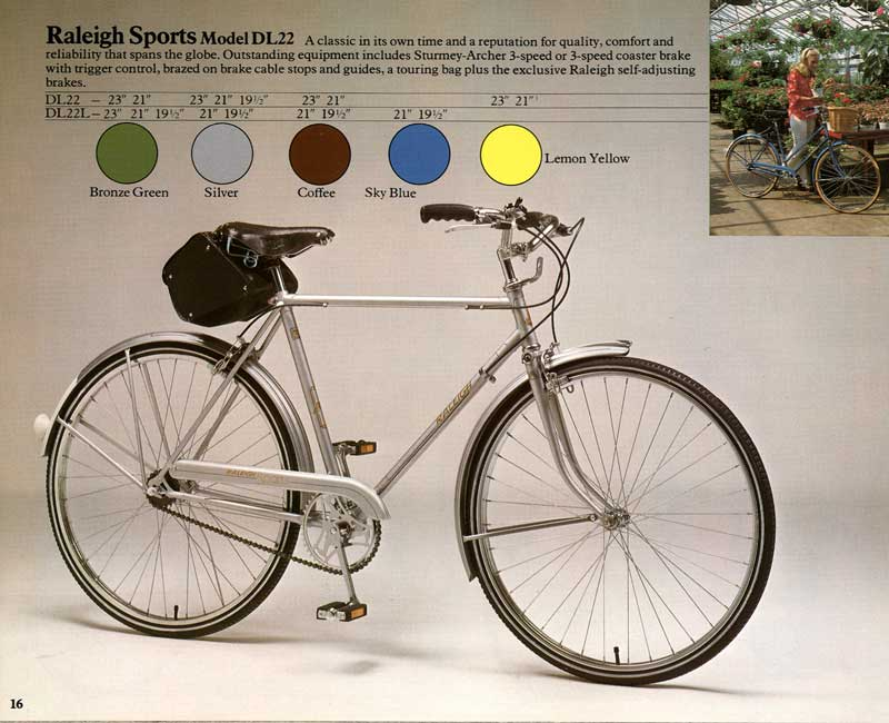 1976 Raleigh Sports