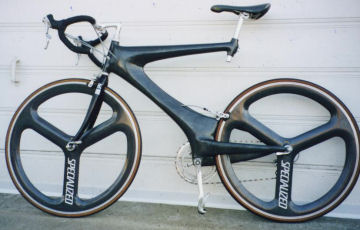 The finished bicycle